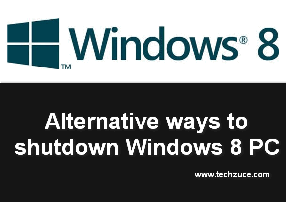 shutdown windows 8 PC
